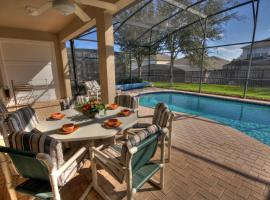 Kotedža Windsor Hills Villa with Pool Orlando