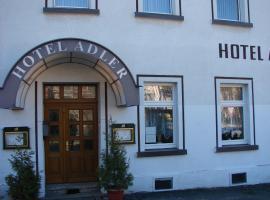 Hotel-Restaurant-Adler, Hotel in Reichenbach im Vogtland