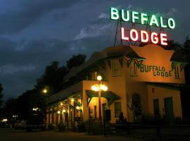 Buffalo Lodge Bicycle Resort - Amazing access to local trails & the Garden, family hotel in Colorado Springs