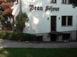 Hotel Restaurant Beau Séjour、Morsbronn-les-Bainsのホテル