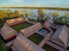 Heliconia Amazon River Lodge, cabin in Francisco de Orellana