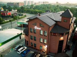 DK Kompleks Hotel, hotel with jacuzzis in Novosibirsk