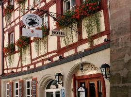 Hotel Elch, отель в Нюрнберге