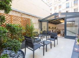 Jardin de Villiers, hotel near Brochant Metro Station, Paris