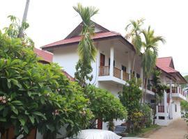 Palmhouse white building, hotell sihtkohas Mae Hong Son