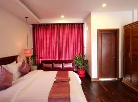 Holy Angkor Deluxe Hotel, hotel en Siem Reap