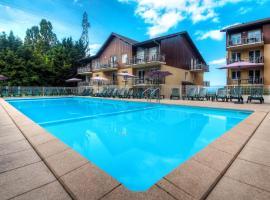 Zenitude Hôtel-Résidences Les Terrasses du Lac, Ferienwohnung in Évian-les-Bains