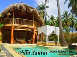 Meno Island Villas, villa in Gili Meno