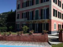 Villa Rosmarino, hotel near Abbazia di San Fruttuoso, Camogli