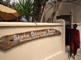 Shaba Boutique Hotel city centre, отель в Занзибаре