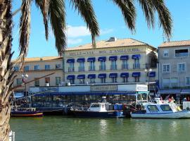 Hôtel Belle Vue d'Angleterre, beach hotel in Le Grau-du-Roi