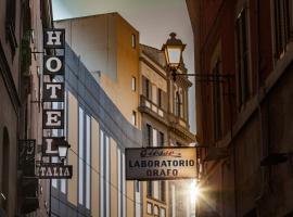 Hotel Italia, отель в Кальяри