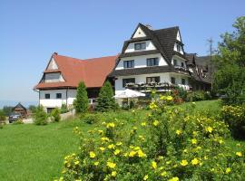 Willa Cetynka – hotel w pobliżu miejsca Gubałówka w Zakopanem