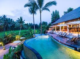 Calma Ubud Suite & Villas, отель в Убуде