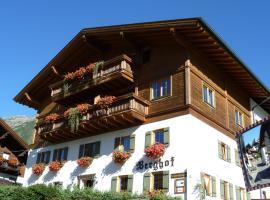 Berghof, guest house in Berwang