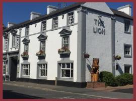 The Lion Hotel, hotel near Chatsworth House, Belper