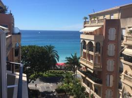 Victoria Palace/ Queen's Garden Sea View, budget hotel in Menton