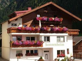 Pension Sonnenheim, B&B in Sölden