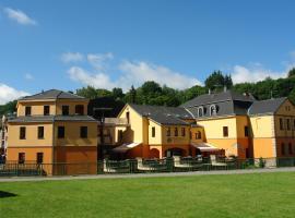 Hotel Střelnice, hotel near Świdnica Cathedral, Teplice nad Metují