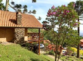 Chalés Araucária e Manacá, hotel perto de Pedra do Bauzinho, São Bento do Sapucaí