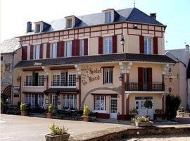 Hotel du Nord - Restaurant le Saint Georges、Quarré-les-Tombesのホテル