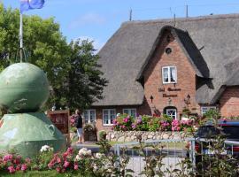 Ual Öömrang Wiartshüs, Hotel in der Nähe von: Schwimmbad Aquawyk, Norddorf auf Amrum