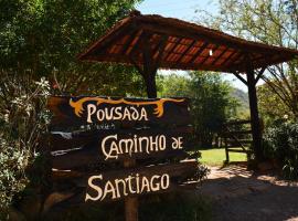 Pousada Caminho De Santiago, hotel em Alto Paraíso de Goiás