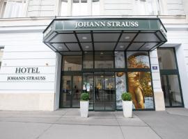 Hotel Johann Strauss, отель в Вене, рядом находится Дом Венского музыкального общества