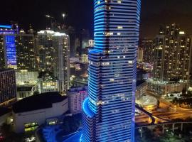 Downtown Miami Deluxe Apartment, hotel near Bayfront Park, Miami