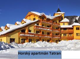 Horský Apartmán Tatran, apartmán na Donovaloch