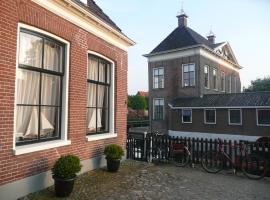 Sonnehûs, pet-friendly hotel in Hindeloopen