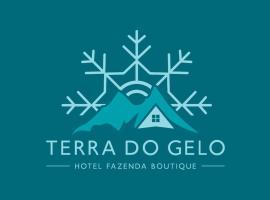 Hotel Fazenda Boutique Terra do Gelo, hotel in Bom Jardim da Serra