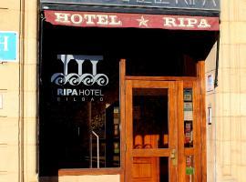 Hotel Ripa, hotel cerca de Aeropuerto de Bilbao - BIO, Bilbao
