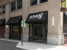 Home2 Suites by Hilton Indianapolis Downtown, hôtel à Indianapolis