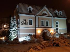 Hotel Regius – hotel w pobliżu miejsca PKP Opole Główne w mieście Opole