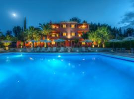 The Palm Garden Andreas Villas Golf, serviced apartment in Ermones