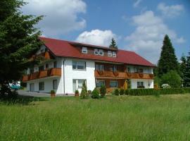 Haus Rosenbühl, hotel near Anfängerlift Talstation Süd, Warmensteinach