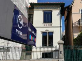 Oporto Music Hostel, nakvynės namai Porte