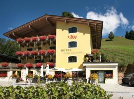 Hotel Eder Michaela, hotelli Saalbachissa