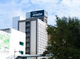 Hotel AreaOne Okayama, hotel en Okayama