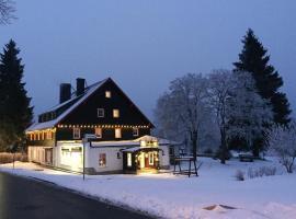 Hotel Zum Kranichsee, Hotel in der Nähe von: Deutsche Raumfahrtausstellung, Weitersglashütte