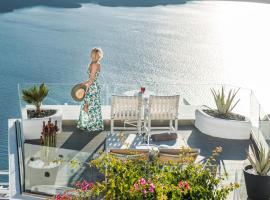 On The Rocks - Small Luxury Hotels of the World, hotel a Imerovigli