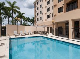 Courtyard by Marriott Miami at Dolphin Mall, hotel in Miami