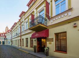 Grotthuss Boutique Hotel Vilnius, отель в Вильнюсе
