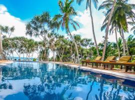 Sanjis The Seaside Cabanas, hotel in Tangalle