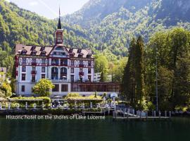 Hotel Vitznauerhof, hotel in Vitznau