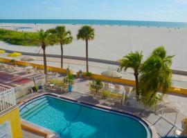 Page Terrace Beachfront Hotel, hotel em St Pete Beach