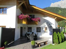 Alpen-Chalet Ehrwald, self catering accommodation in Ehrwald
