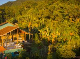 Haleiwa chalés e suítes - A Guest House do Prumirim, hotel near Promirim Waterfall, Ubatuba