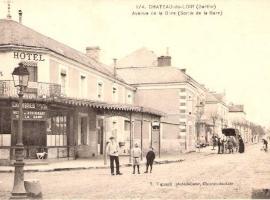Hotel de la gare, hotel in Château-du-Loir